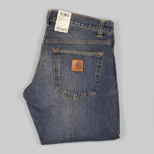 Carhartt Buccaneer Denim Strand Washed