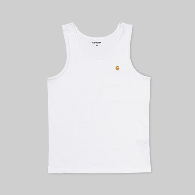CARHARTT CHASE A-SHIRT TANK WHITE GOLD