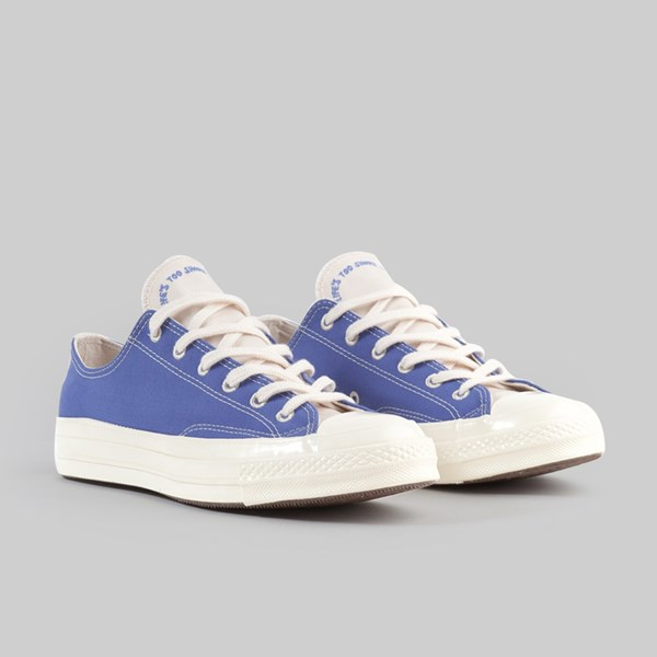 CONVERSE CHUCK 70 OX 'RENEW' OZONE BLUE NATURAL
