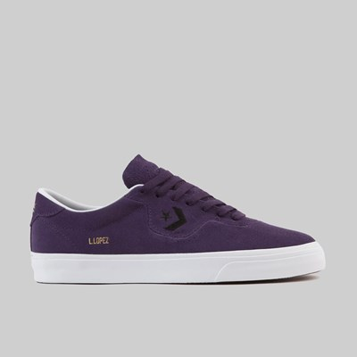 CONVERSE LOUIS LOPEZ PRO OX GRAND PURPLE BLACK