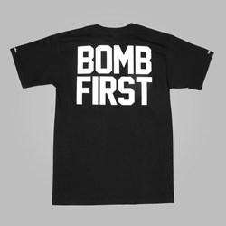 Crooks & Castles Bomb First T Shirt Black