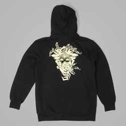 Crooks & Castles Etched Medusa Hooded Sweat Black