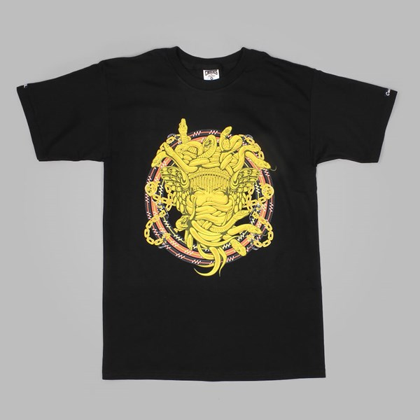Crooks & Castles Mountaineer Medusa T Shirt Black