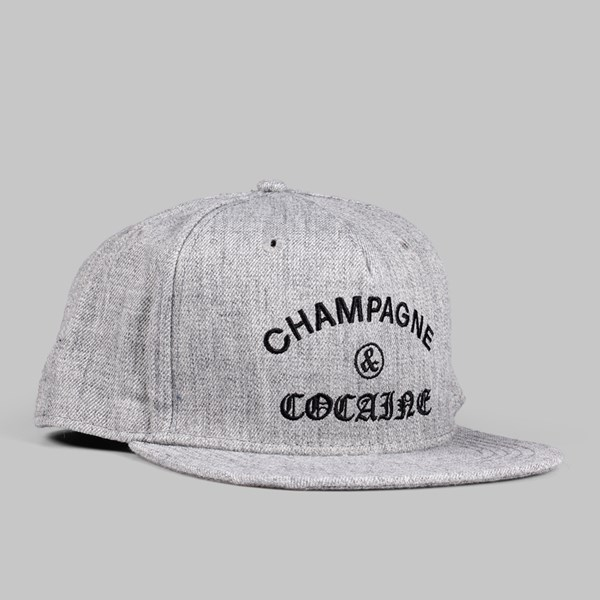 df735845df0ca Crooks   Castles Champagne   Cocaine Snapback Grey