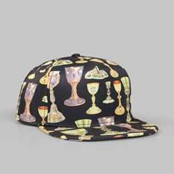 Crooks & Castles Holy Grail Snapback Cap Black
