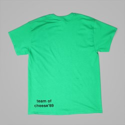 DEAR SKATING EVIL WORLD TEAM T-SHIRT GREEN