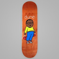 DEAR SKATING DUNE CURBCUSHER DECK 8""