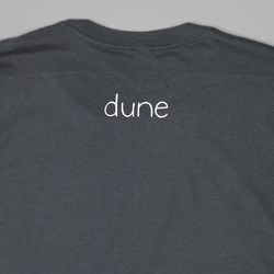 DEAR SKATING DUNE CURBCUSHER TEE CHARCOAL