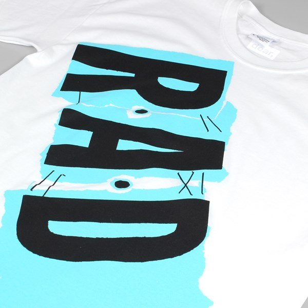 DEAR SKATING R.A.D MAGAZINE TEE WHITE