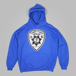 DEAR SKATING ROCCO DIVISION PO HOODY BLUE