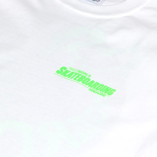 DEAR SKATING TWS AGGRO ZONE TEE WHITE
