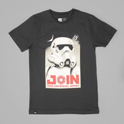 DEDICATED STAR WARS IMPERIAL ARMY T SHIRT CHARCOAL
