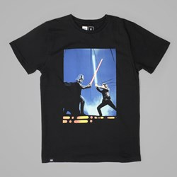 DEDICATED STAR WARS LIGHTSABER DUEL T SHIRT BLACK