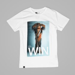 DEDICATED X STAR WARS CHEWBACCA WIN TEE WHITE