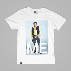 DEDICATED X STAR WARS HAN SOLO ME TEE WHITE
