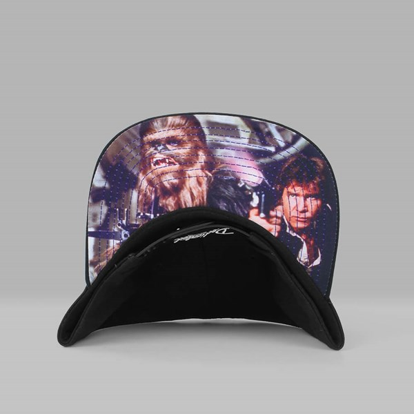 DEDICATED X STAR WARS REBEL BROS SNAPBACK BLACK