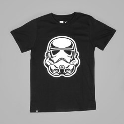 DEDICATED X STAR WARS TROOPER HEAD TEE BLACK