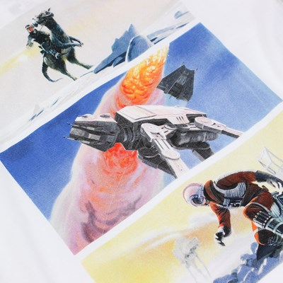 DEDICATED X STAR WARS WINTER WAR TEE WHITE