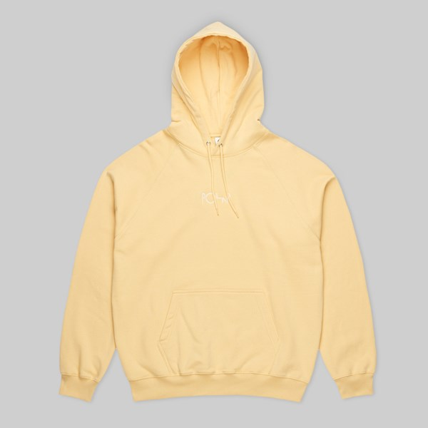 POLAR SKATE CO. DEFAULT PO HOOD LIGHT YELLOW