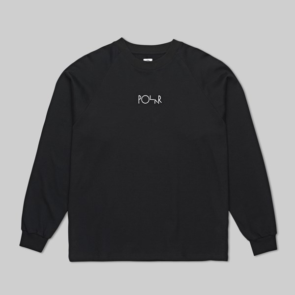 POLAR SKATE CO. DEFAULT LONG SLEEVE TEE BLACK