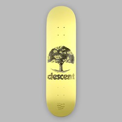 DESCENT SKATEBOARDS SEASONAL DECK YELLOW 8.25""