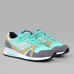 DIADORA N9000 'TROPICS PACK' COCKATOO STEEL GREY