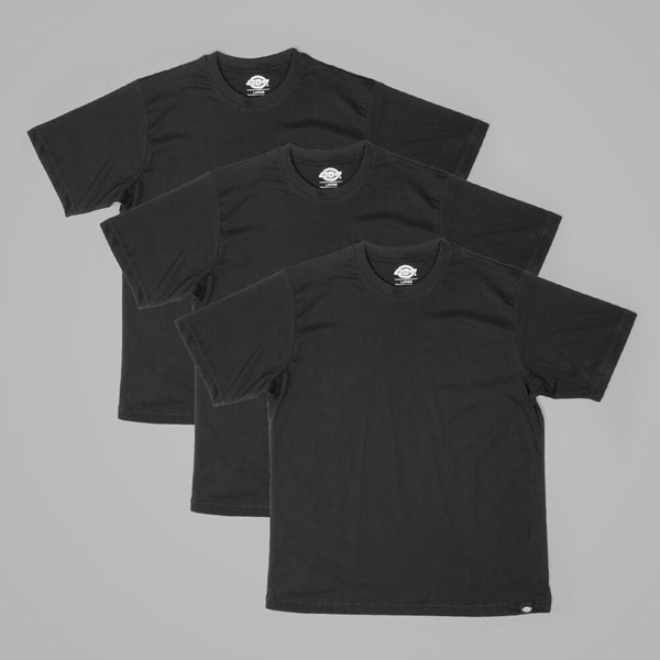DICKIES 3-PACK T SHIRTS BLACK