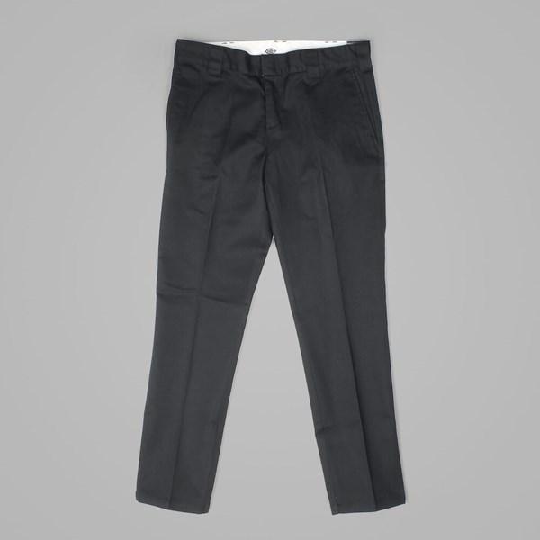 01af97012be DICKIES 872 SLIM FIT WORK PANT BLACK