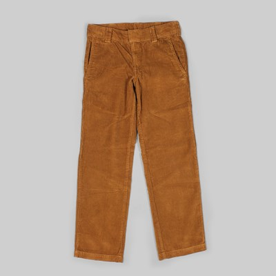 DICKIES 873 CORD PANT BROWN DUCK