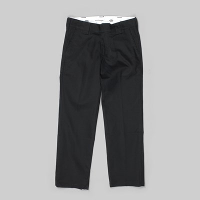 DICKIES 873 COTTON CHINO PANTS BLACK