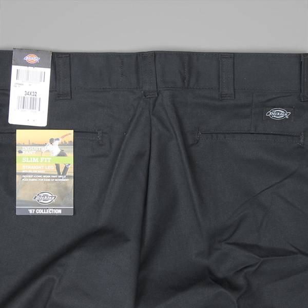DICKIES 894 INDUSTRIAL WORK PANT BLACK