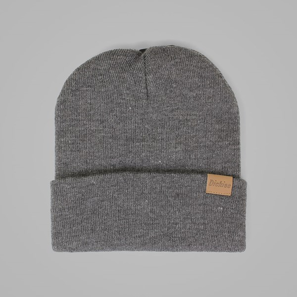 DICKIES ALASKA BEANIE HAT DARK GRAY MELANGE