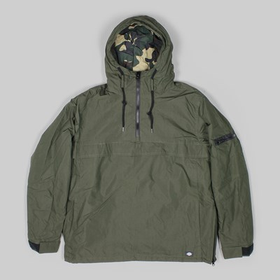 DICKIES BELSPRING JACKET OLIVE GREEN