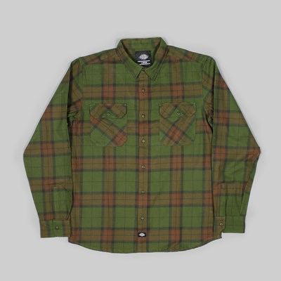 DICKIES BROWNSBURG SHIRT GREEN