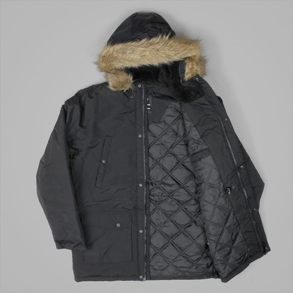 DICKIES CURTIS PARKA COAT BLACK