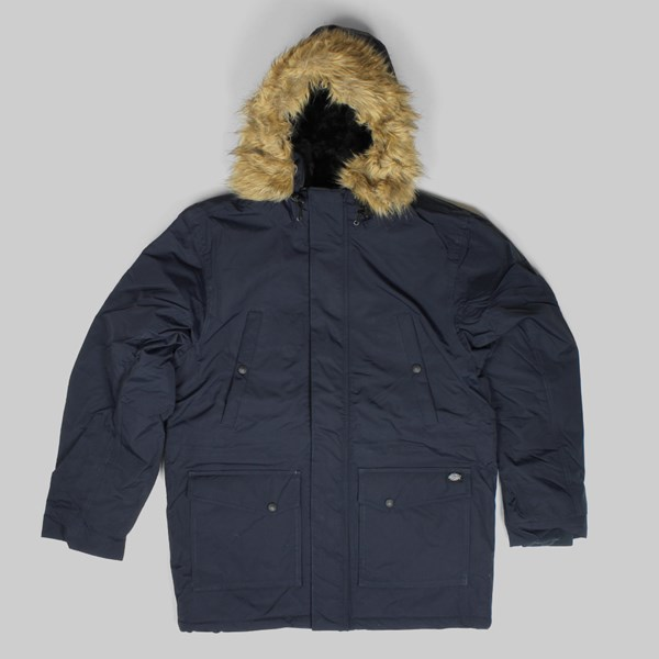 DICKIES CURTIS PARKA JACKET DARK NAVY