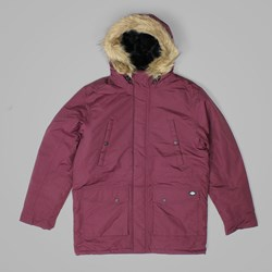 DICKIES CURTIS PARKA JACKET MAROON
