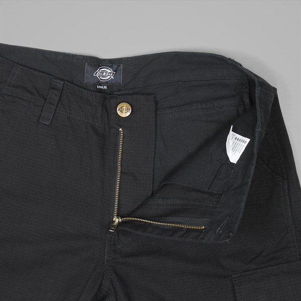 DICKIES EDWARDSPORT SLIM CARGO PANTS BLACK