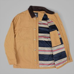 DICKIES FOREST CITY JACKET BROWN DUCK
