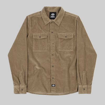 DICKIES FORT POLK LONG SLEEVE SHIRT KHAKI