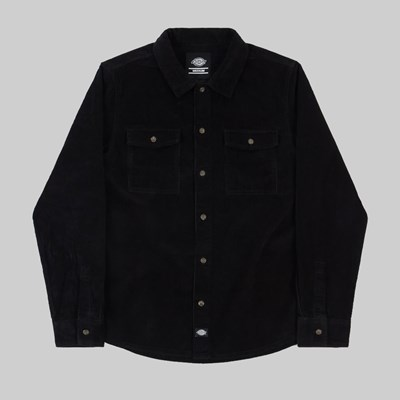 DICKIES FORT POLK LONG SLEEVE SHIRT BLACK