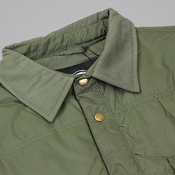 DICKIES HARLAN LS SHIRT DARK OLIVE
