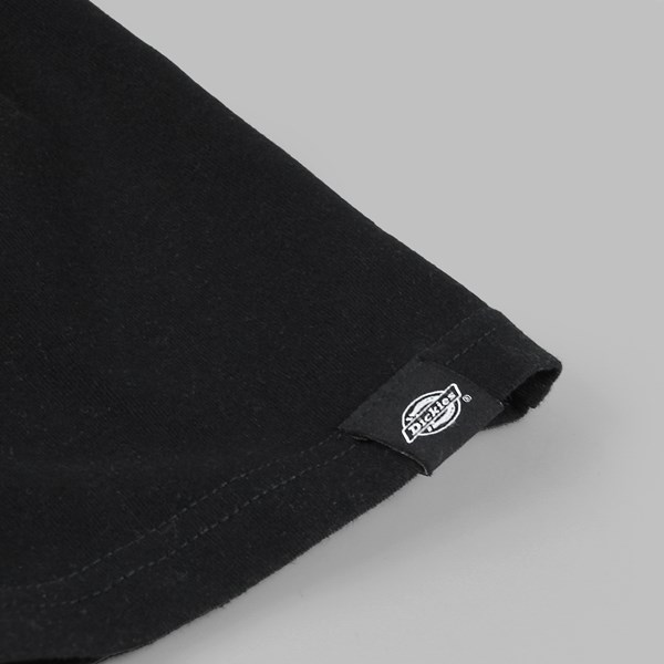 DICKIES HORSESHOE LOGO SS T-SHIRT BLACK