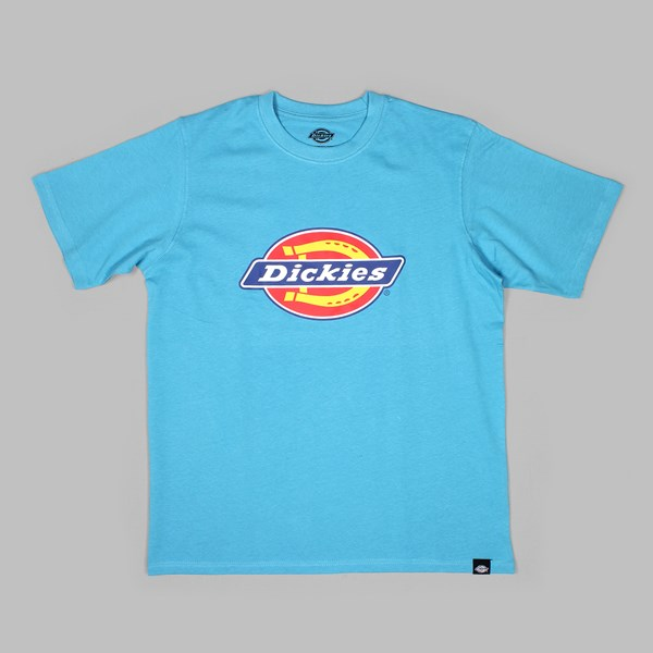 DICKIES HORSESHOE LOGO SS T-SHIRT BLUE SKY