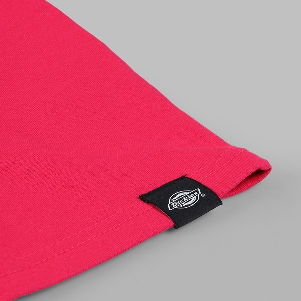 DICKIES HORSESHOE LOGO SS T-SHIRT ROSE PINK