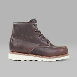 DICKIES ILLINOIS BOOT DARK BROWN