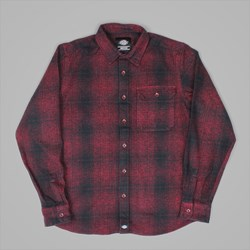 DICKIES IVYLAND LS SHIRT RED