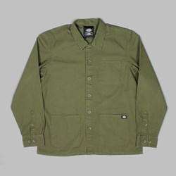 DICKIES KEMPTON LS SHIRT DARK OLIVE