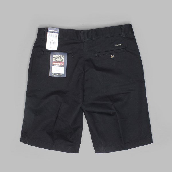 DICKIES KHAKI SHORT BLACK
