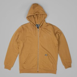 DICKIES KINGSLEY ZIP HOODIE BROWN DUCK